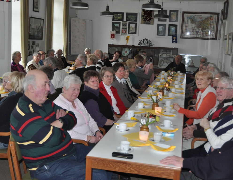 Seniorenfrühstück im Haus im Stadtpark
