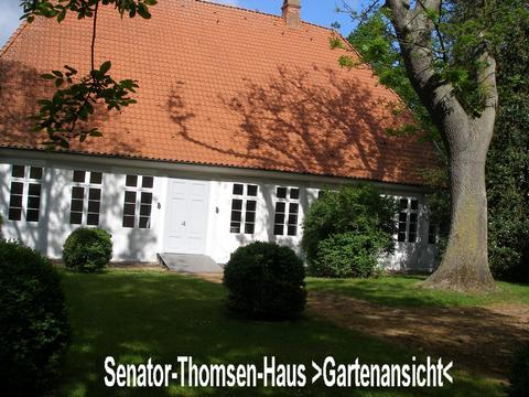Senator-Thomsen-Haus Gartenansicht
