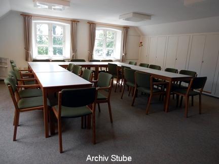 Haus im Stadtpark - Archiv Stube