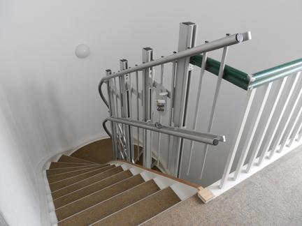 Haus im Stadtpark - Treppenaufgang