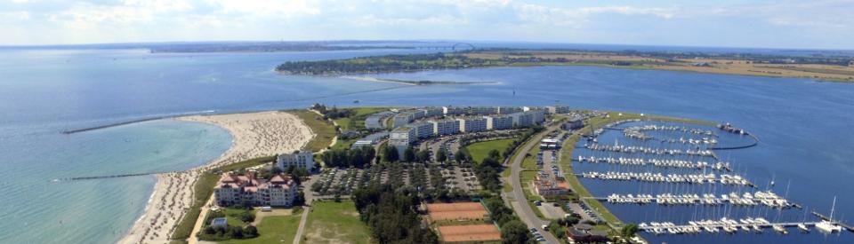 Luftbild Südstrand